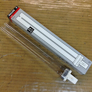 Philips TUV PL-S 11W 2P 1CT G23 germicidal UVC Fluorescent lamp Hg Poland Made