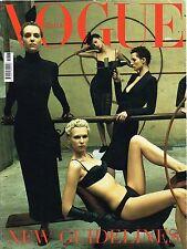 VOGUE Italia 3/2001 HANNELORE KNUTS Chiara Mastroianni KIM PEERS Jennifer Garner