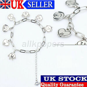 KPOP BTS Bracelet Bangtan Boys Wristband V SUGA Bracelets Jewelry Accessories UK
