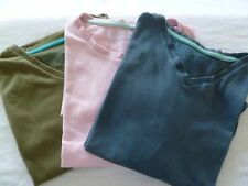 3 Mens Short Sleeved T Shirts Size Medium