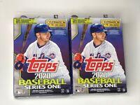 2020 Topps Series 1 Baseball Hanger Box Factory Sealed 2 Box LOT 🔥