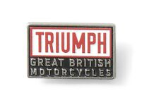 Triumph Motorcycles Heritage Pin Badge Was 5.00