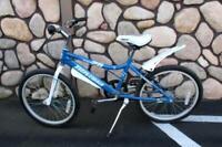"Novara 20 Pixie SS 20"" Girl's Bike With Velo Seat Steel Frame Splatter Guards"