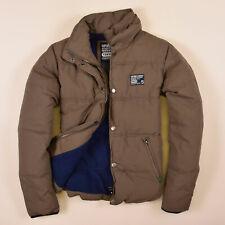 Superdry Herren Jacke Jacket Gr.M Fleece-Futter Winterjacke Olive Grün, 70912