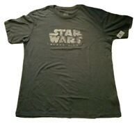 NWT Disney Parks Official Star Wars Galaxy's Edge Launch t-shirt Men's Size L