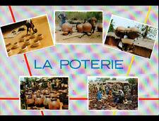 ARTISANAT d'AFRIQUE (TOGO) POTERIE / ARTISAN au travail & Marché trés animé