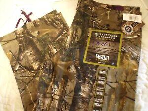 Walls Legend Dry IQ Realtree Camo Hunting Cargo Pants SZ 2XL REG  NEW NWT