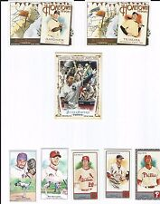 Lot of 28 2011 Allen & Ginter's Mantle, Rivera, Sketch, Hometown Heroes, Mini SP