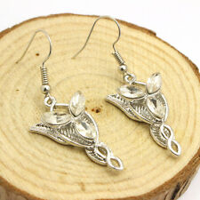 Lord of The Rings Arwen Evenstar EARRINGS LOTR Elf Elven Jewellery