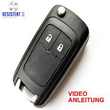 OLJ2GE Klappschlüssel Gehäuse für 2-Tasten Opel Astra J,Corsa E  Fernbedienung