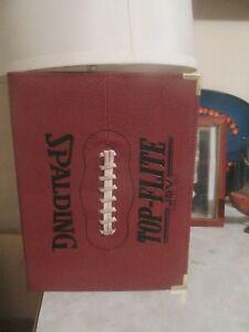 Spalding Leather Top-Flite J5V Football Folder Portfolio,- RARE!