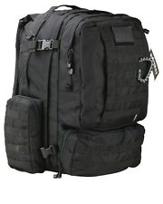 Kombat Viking Molle Patrol Pack BLACK Large 60L Backpack, Rucksack