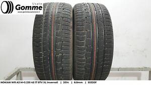 Pneumatici Gomme Usate NOKIAN WR A3 M+S 235 45 17 97V XL Invernali