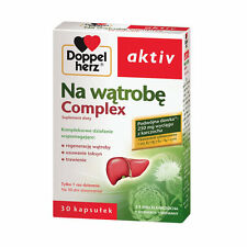 NA WĄTROBĘ Complex Doppelherz aktiv 30 Kaps. trawienie wątroba karczoch