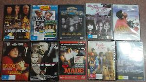 DVD Bulk Lot Choose New sealed, Every DVD $5.00 Assorted Titles Drama Region 4