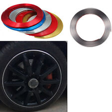 Car 8M Gary Trend Vehicle Wheel Rim Protector Tire Guard Line Rubber Moulding