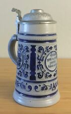 VINTAGE - GERMAN - LIDDED STEIN - PORCELAIN