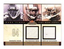 Les Vikings, 49ERS, flibustiers NFL 2003 Fleer Mystique RARE trouve jersey double #/250