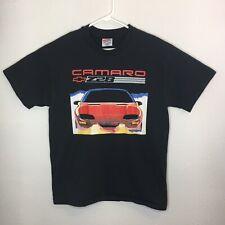 Vintage 1993 Camaro Z28 Shirt Single Stitch Black Mens Large (Med) Chevrolet