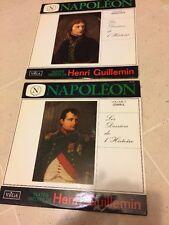2 Disques 33T LP-NEAR MINT-L'EMPEREUR NAPOLEON- Henri GUILLEMIN - VEGA.19.131
