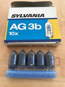 Sylvania 5 Blitzbirnen AG 3B