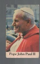 Pope John Paul II 1982 Card Peter's Pence Collection
