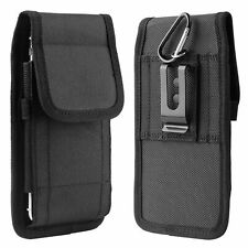 Vertical Cell Phone Holster Pouch Wallet Cases Waist Pack With Belt Loops Holder