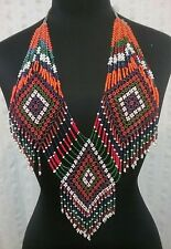 Vintage Afghan Gypsy Beaded Necklace