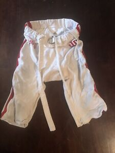 Indiana University Hoosiers Football Pants Game Worn/Used/Issued Standard White