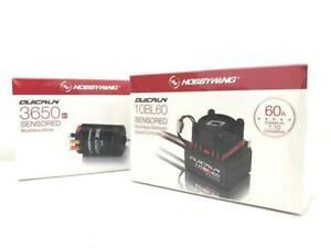 Hobby Wing Quicrun Combo Brushless 60A ESC + Motor 3650 Sensored 17.5T