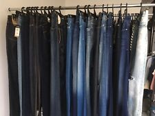Men's and women's jeans multiple styles and sizes
