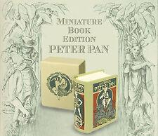 MINIATURE BOOK  Peter Pan