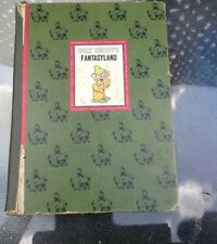 Vintage Walt Disney Fantasyland Hardcover Illustrated Book 1965