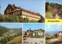 Ansichtskarte Klingenthal Hotel, Mehrbild 1980