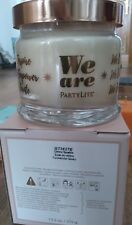 3 Docht-Kerze im Glas  von Partylite funkelnder Quarz im Handel nicht erhältlich