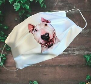 Face mask Double Layered ENGLISH BULL TERRIER 8 DIFFERENT DESIGNS posted 1 day