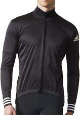 adidas Adistar Winter Long Sleeve Mens Cycling Jersey - Black