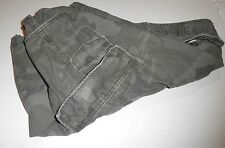 """MEN'S VINTAGE CAMOUFLAGE CARGO SHORTS -LOTS OF POCKETS & DRAW STRINGS-WAIST 38"""""""