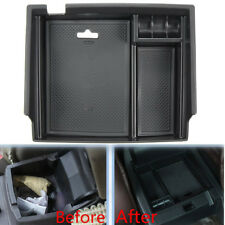 Black Car Central Armrest Storage Box Fit For Honda/Accord 9th 2013 2014 2015