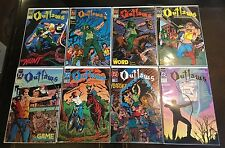 OUTLAWS: THE LEGEND OF THE MAN CALLED HOOD #1 2 3 4 5 6 7 8 COMPLETE SET