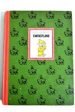 Vintage 1965 Walt Disney's Fantasyland Book Wonderful Worlds of Walt Disney