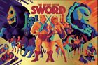He-Man She-Ra The Secret of the Sword Mad Duck Gold Foil Variantby Tom Whalen