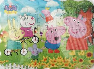 Peppa Pig Family 40-Piece Drawing Jigsaw Puzzle Best Gift for Kids -08