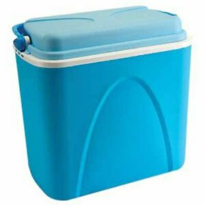 COOL BOX 24L 24 LITRE COOLBOX COOLER CAMPING BEACH PICNIC FOOD ICE LARGE