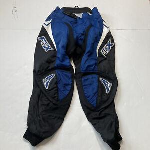 Fox Racing Blue Boys MotoX Pants Sz 10-26 Breathable Kids Adjustable