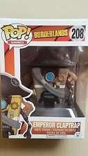 """In-Hand Funko POP! Games Borderlands """"Emperor Claptrap"""" Vinyl Figure"""