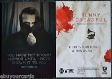 Penny Dreadful Complete Quotable Cards Set Q1 - Q9 Insert Chase Trading Cards