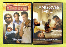 The Hangover 1 & 2 ~ New DVD Movie Lot ~ Bradley Cooper Zach Galifianakis Comedy