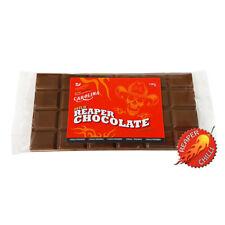 CAROLINA REAPER Leche CHILE Tableta de chocolate - 2.5% 100 g