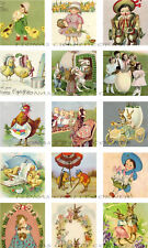 15 Easter Spring Rabbit Ducks Hang / Gift Tags For Scrapbook Pages (38)